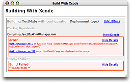 Build With Xcode