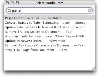 Select Bundle Item